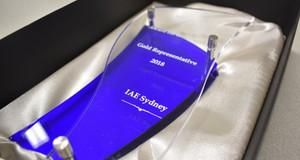 "iae Sydney - ""Gold Representative"" Award"